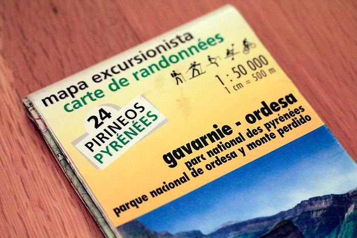 Les cartes de randonnée dans les Pyrénées