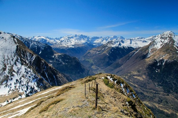 Panorama depuis le sommet du Pic de Bergons