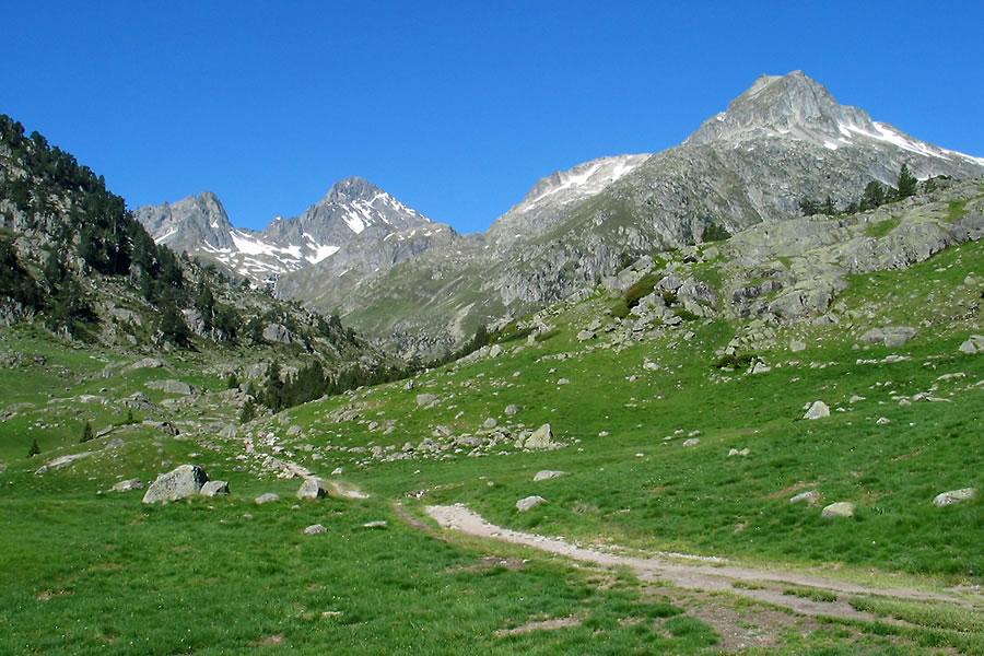 Randonnée au lac d'Arratille