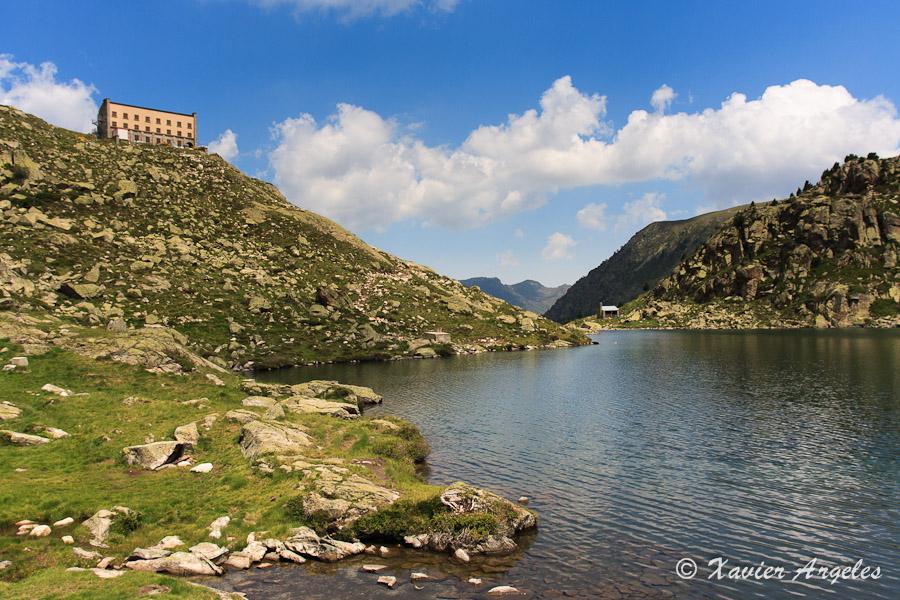 Randonnée au lac de la Glère