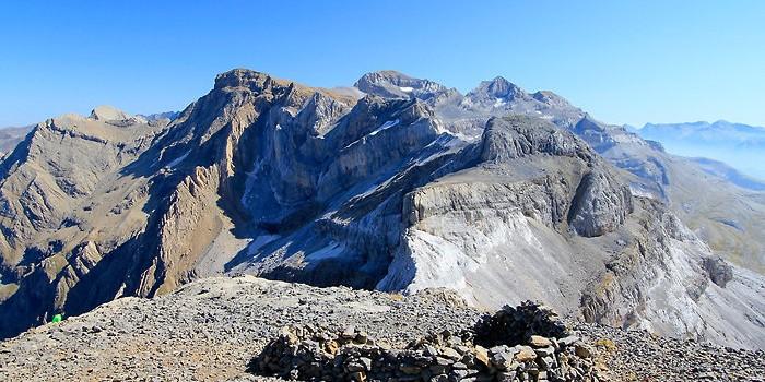 Les sommets de plus de 3000 mètres dans les Pyrénées