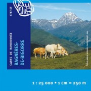 Carte Ign 1747ET Bagnères-De-Bigorre/Pic du Midi de Bigorre/Vallée de Campan