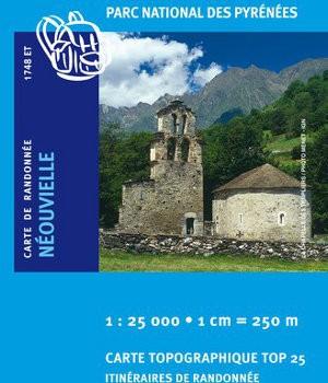 Carte Ign 1748ET Néouvielle/Vallée d'Aure/Parc national des Pyrénées