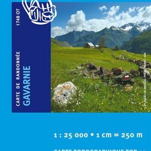 Carte Ign 1748OT Gavarnie/Luz-Saint-Sauveur/Pn des Pyrenees